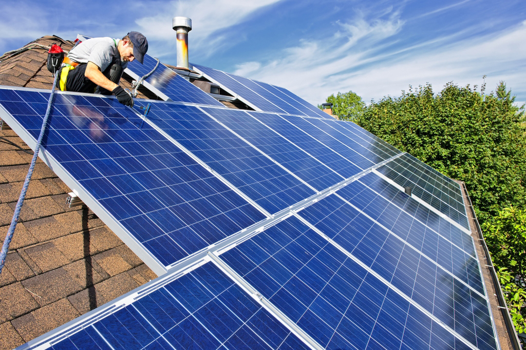Riverside County Solar Installation
